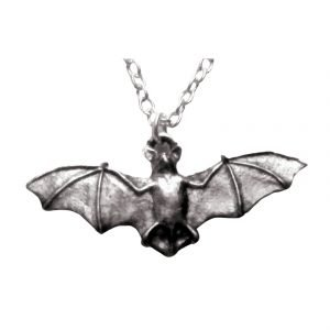 Bat necklace 678