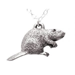 Beaver necklace 1141