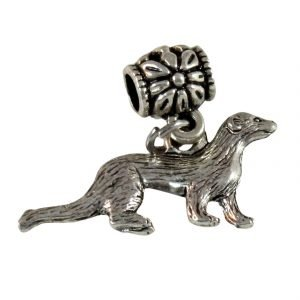 Ferret on a bracelet bail 1429