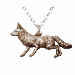 Fox necklace 598