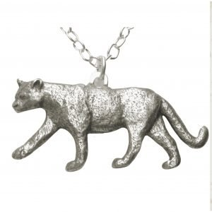 Mountain lion necklace 1366