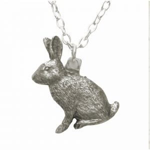 Rabbit or hare necklace 987
