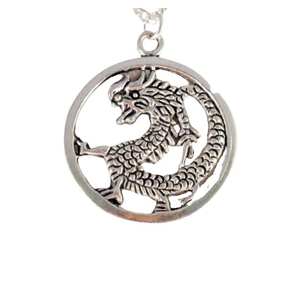 Roaring dragon necklace 1649