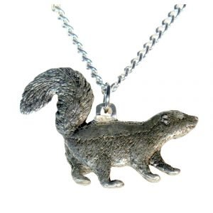 Skunk necklace 704