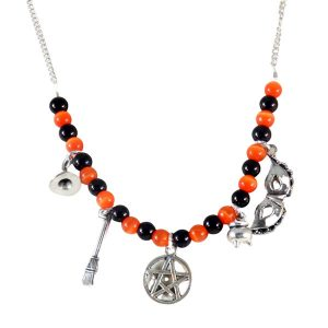 The witching hour bib necklace 593-