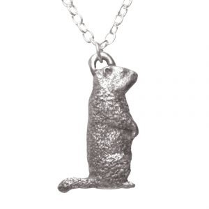 Woodchuck necklace 1362