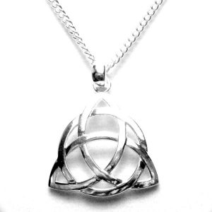 Triquetra necklace 49