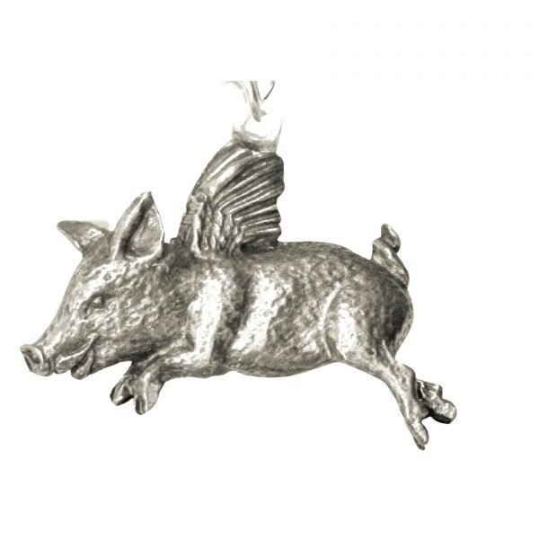 When Pigs Fly Necklace 1343