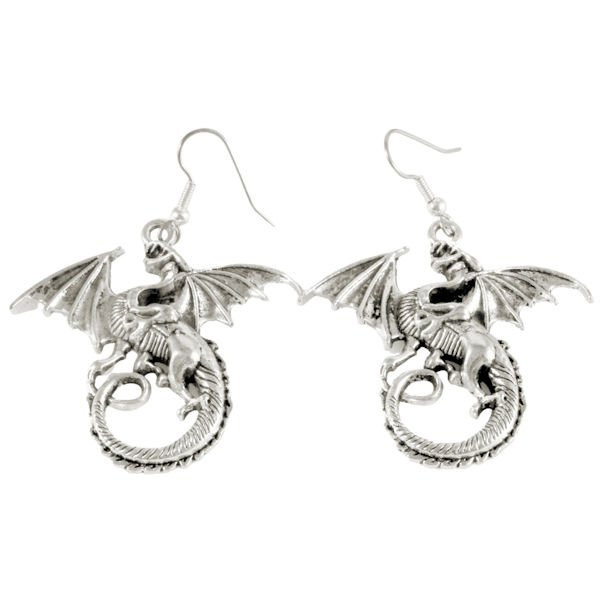 Large dragon earrings 1634