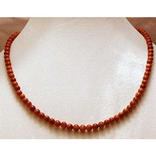 Brown Goldstone Necklace 857