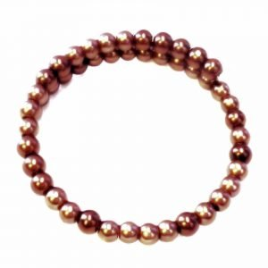Chocolate bead bracedlet 1410