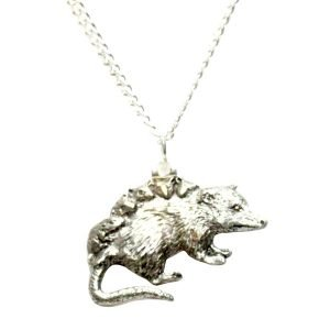 Possum necklace 464
