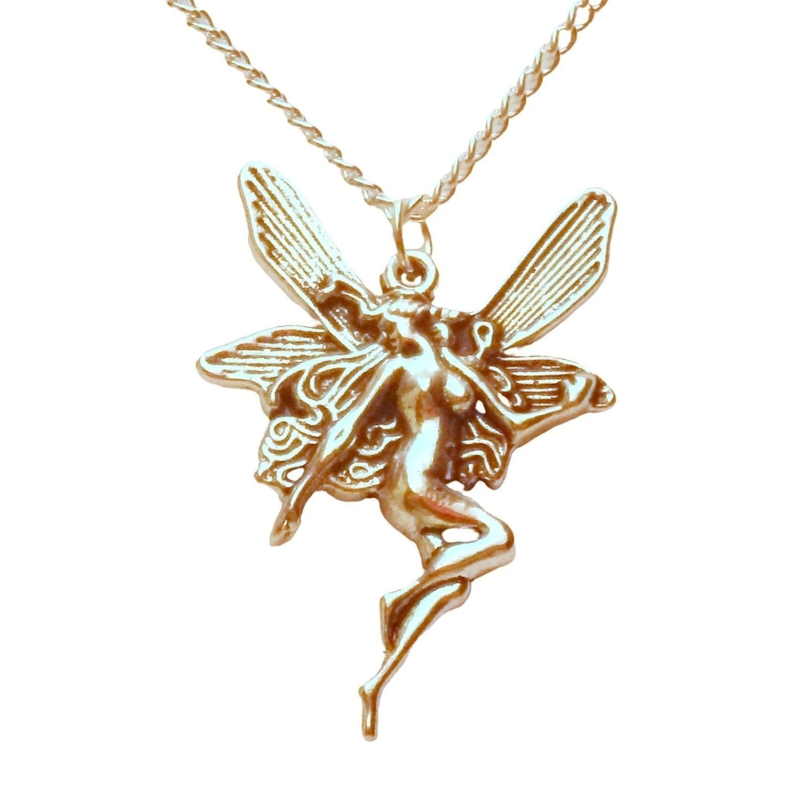Large Nude Fairy Necklace 1389