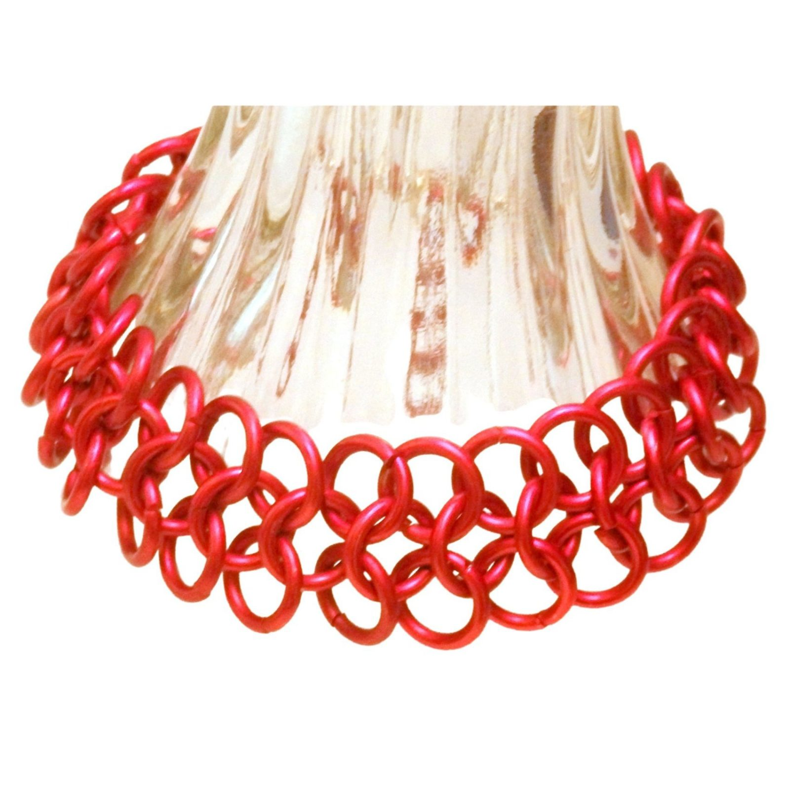 Red European 4 In 1 Chain Mail Bracelet 1270