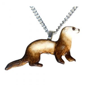 Sable ferret necklace 735