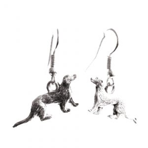 Fine ferret earrings 125