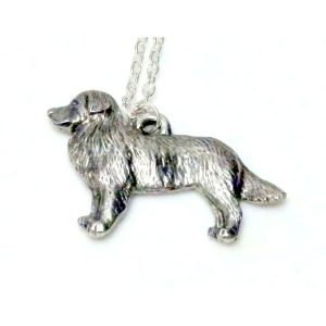 Border collie necklace 1531