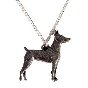 Doberman pincher dog necklace 1537