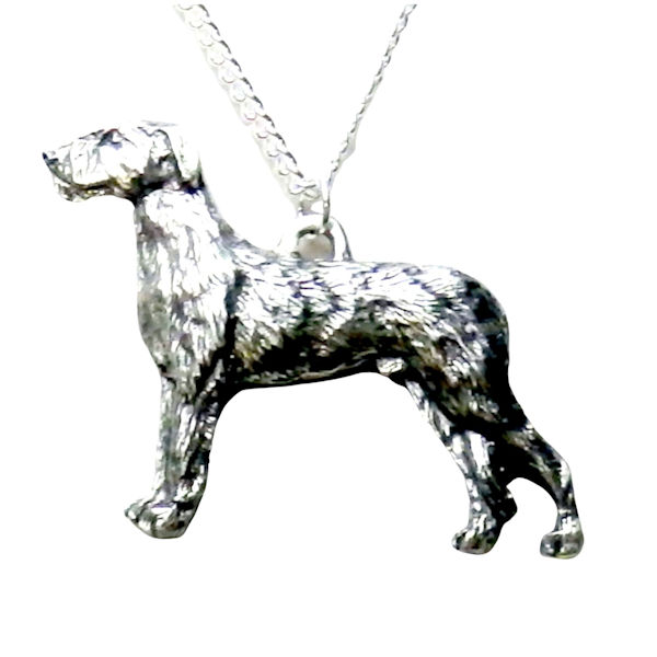 irish wolfhound necklace 1508