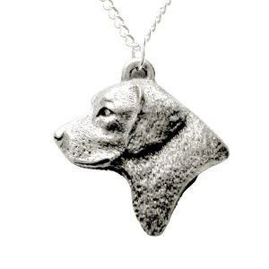Labrador retriever head necklace 1523