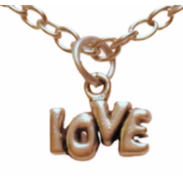 Love charm necklace 1276-