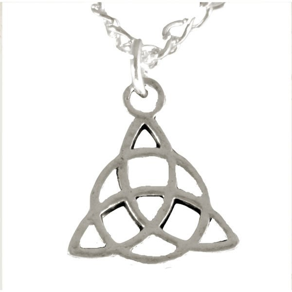 Triquetra necklace 1650