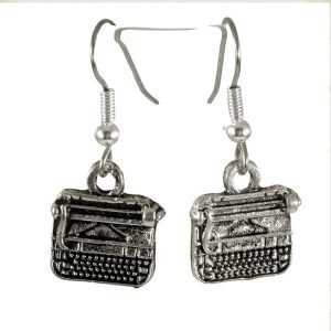 Vintage typewriter earrings 1669-