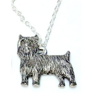 Yorkshire terrier dog necklace 1511