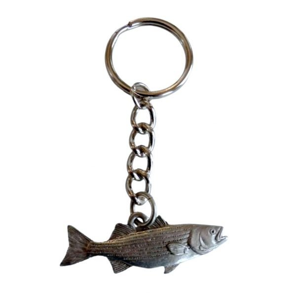 Striper or Striped Bass Keychain 2008K