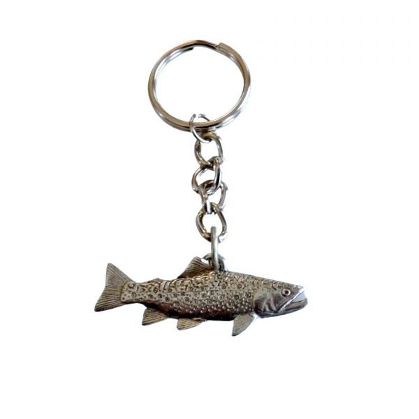 Brook trout keychain 1762