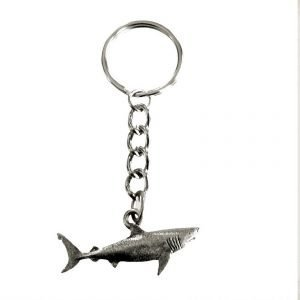 Great white shark keychain 2011