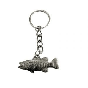 Smallmouth Bass Keychain 1736K