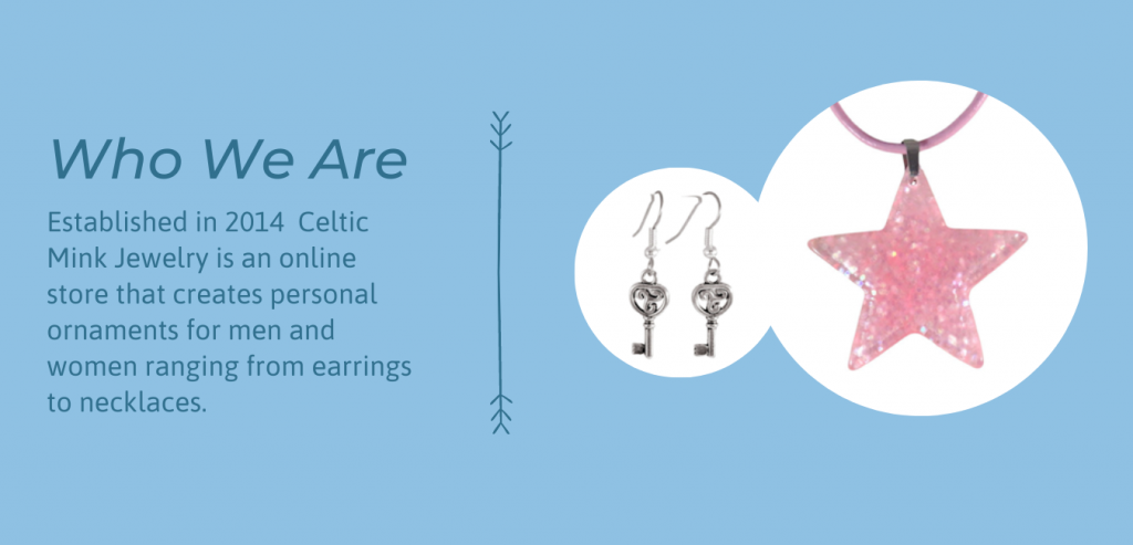 Celtic Mink Jewelry home page slide show P